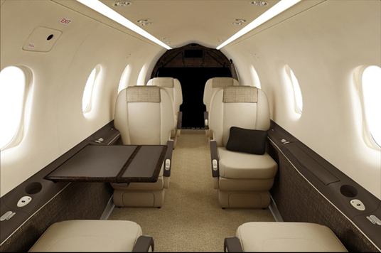 Charter Interior2 - Pilatus PC-12 - Air Charter Flights - Air Charter Service - Western Aircraft