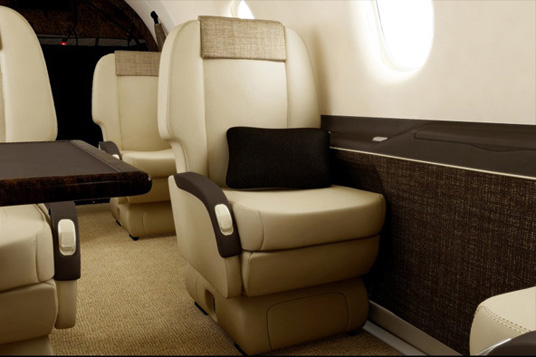 Charter Interior1 - Pilatus PC-12 - Air Charter Flights - Air Charter Service - Western Aircraft